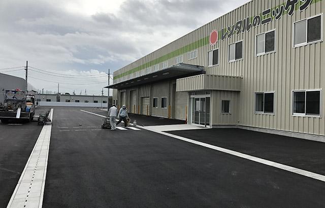 企業・会社の駐車場