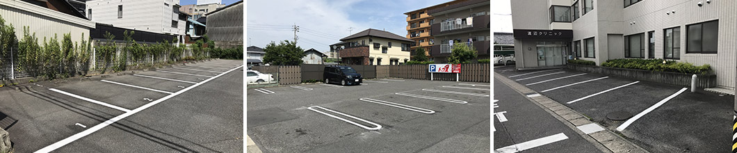 駐車場ライン・白線工事アフター