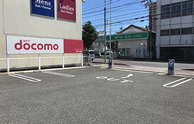 駐車場レイアウトの変更による効率化