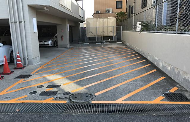マンション駐車禁止区域の設定