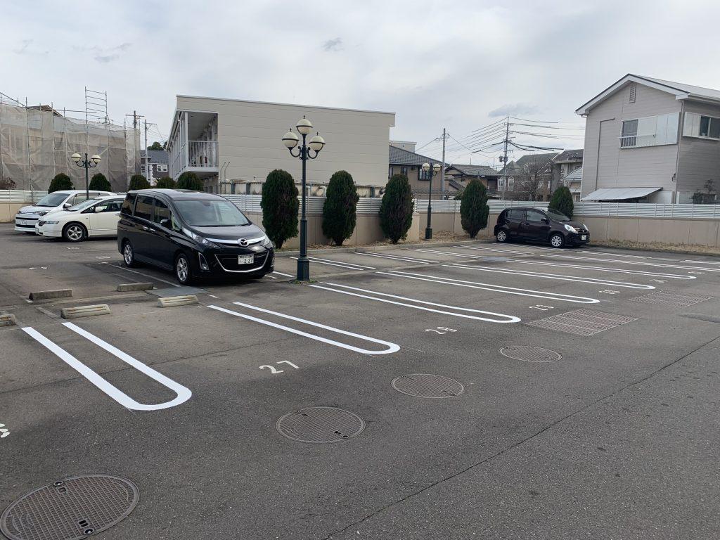 犬山市 マンション駐車場改修工事