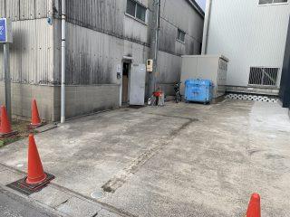 甚目寺町 企業様駐車場ライン工事